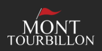 Logo Golf Mont Tourbillon black background